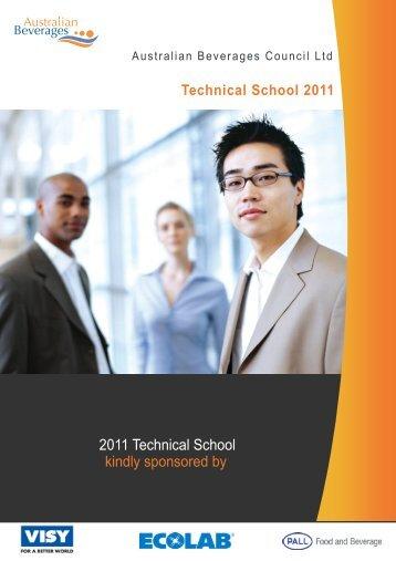 2011 Technical School kindly sponsored by - NZJBA - The New ...