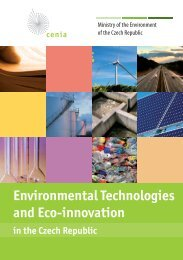 Environmental Technologies and Eco-innovation in the Czech ...