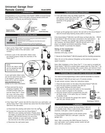 Wiring For Garage Door Opener Wiring Free Engine Image