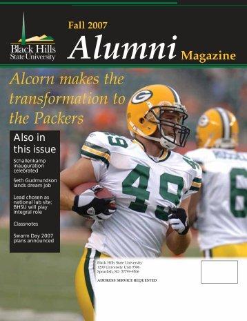 Fall 2007 Alumni - Black Hills State University