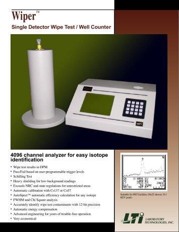Wiper - Laboratory Technologies, Inc.