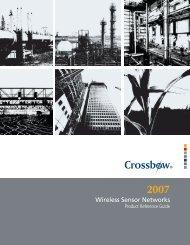 Crossbow 2007 Wireless Product Catalog