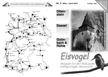 Eisvogel - 2. Jahrgang, Ausgabe 5, März-April 2007