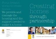 Creating Homes Through Partnership PDF - Focus Ireland