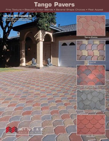 Tango Pavers - McNear Brick and Block
