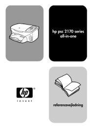 hp psc 2170 series all-in-one - Hewlett Packard