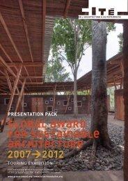 global award for sustainable architecture 2007>2012 - Cité de l ...