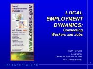 What Is LODES Data? - U.S. Census Bureau