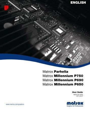 User Guide - Matrox
