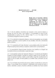 PROJETO DE LEI Nº , DE 2009 (Do Sr. George Hilton) Dispõe sobre ...