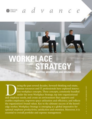 Workplace Strategy - Jones Lang LaSalle