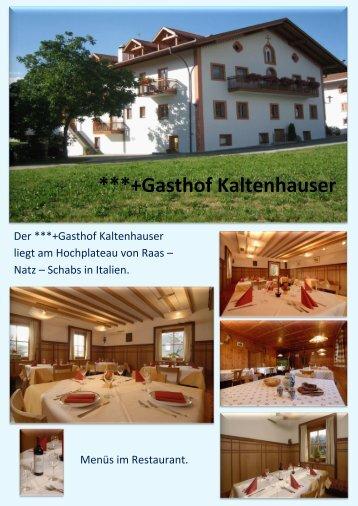 ***+Gasthof Kaltenhauser - Generation Snow