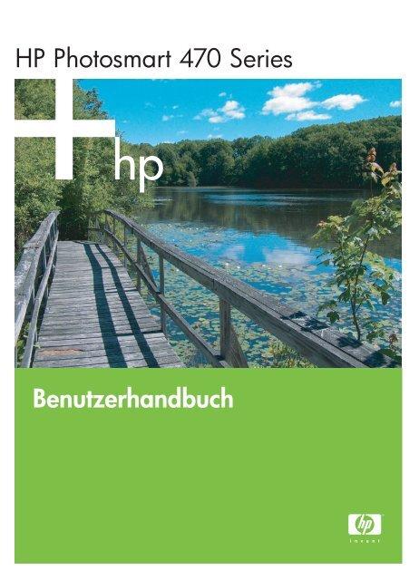 Benutzerhandbuch HP Photosmart 470 Series - Hewlett Packard