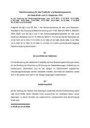 Gebührensatzung für das Friedhofs- und Bestattungswesen der ...