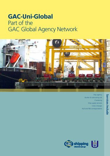 GAC-Uni-Global Part of the GAC Global Agency Network