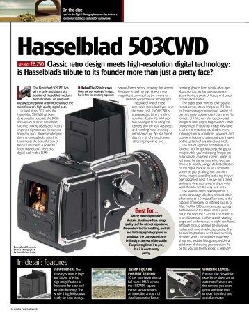 Hasselblad 503CWD