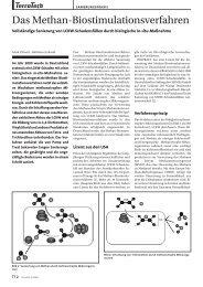 Das Methan-Biostimulationsverfahren