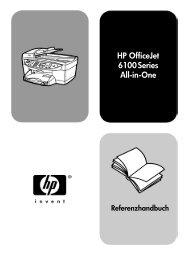 HP OfficeJet 6100 Series All-in-One - Hewlett Packard