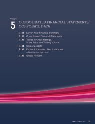5 ConSoliDAteD FinAnCiAl StAteMentS/ CorPorAte DAtA - Marubeni