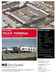 for lease truck terminal - Ohio Equities, LLC