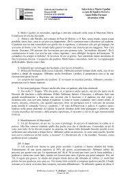 Intervista a Mario Ugolini a cura di Sandro Severi e Anna Della ...