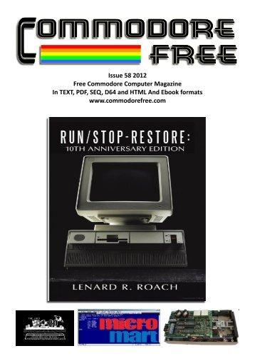 Commodore Free Magazine Issue #58 (PDF)