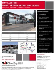 smith and high short north retail for lease
