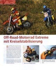 Road-Motorrad Extreme