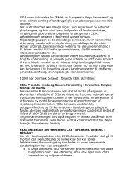 """CEJA er en forkortelse for """"Rådet for Europæiske Unge Landmænd ..."""