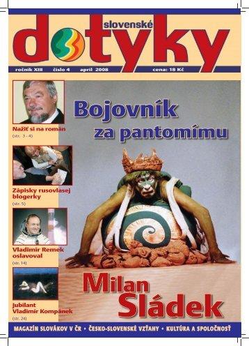 Slovenské dotyky 04 PDF - 2,7MB - Slováci vo svete