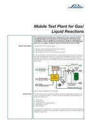 Mobile Test Plant - Linde Gas