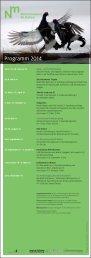 Jahresprogramm 2014 - Naturmuseum St.Gallen