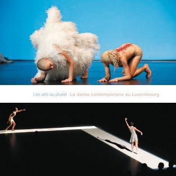Les arts au pluriel ı La danse contemporaine au Luxembourg