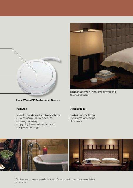 HomeWorks® |international wireless RF dimmers - Lutron
