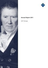 Annual Report 2011 LGT Group