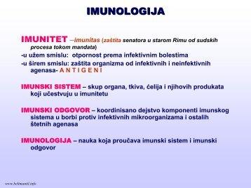 Imunologija – predavanja.pdf - Beli Mantil