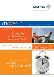 Newsletter move! - Mathys AG Bettlach