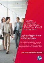 ameliorez la productivite de votre entreprise ... - HP Networking