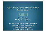 The Grid as Infrastructure for Sharing BioMedical Information: The ...