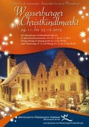 29. 11. bis 23. 12. 2012 - beim WFV-Wasserburg