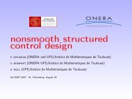 nonsmooth structured control design - Pierre Apkarian - Free