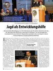 Jagd als Entwicklungshilfe - wildlife-baldus.com