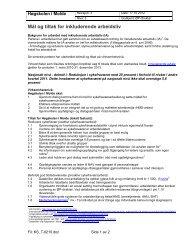 tiltak - Kvalitetssystem ved Høgskolen i Molde