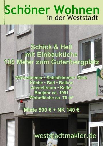 in der Weststadt weststadtmakler.de weststadtmakler.de