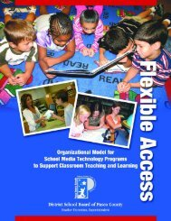 Flexible Access Manual - Pasco County Schools