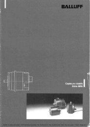BALLUFF - Documentation: Codeurs rotatifs - BRG - Audin