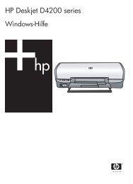 HP Deskjet D4200 Printer Series - Hewlett Packard