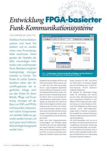 Entwicklung FPGA-basierter Funk ... - MathWorks