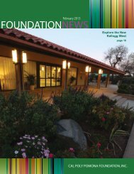 FEBRUARY PDF Issue - Cal Poly Pomona Foundation