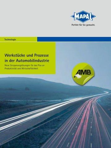 Werkstücke und Prozesse in der Automobilindustrie - MAPAL Dr ...